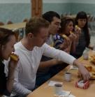 Знакомство. Встретили нас вкуснейшими пирогами! Благотворительное новогоднее мероприятие 29 декабря 2013