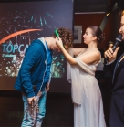 "90 человек Космпания ""TOP CASE"" 25.11.2015 ""TOP New Year Party"" Ресторан «Zagato Moscow Space»"